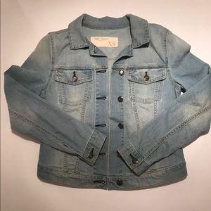 Billy Blues Light Blue Jean Jacket Size XS